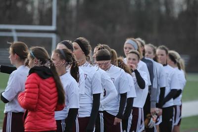 HCHS varsity girls vs Hudsonville