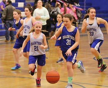 BYB Girls Half Time Wamps Game Feb 2015