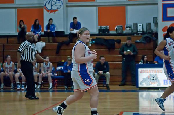 2011-01-07 Girls Varsity Basketball vs Rahway