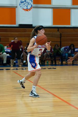 2011-01-18 Dayton Girls Varsity Basketball vs Hillside