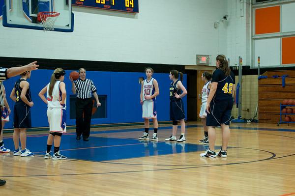 2011-02-04 Dayton Girls Varsity Basketball vs Brearley