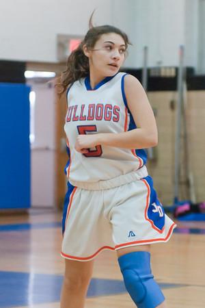 2011-02-08 Dayton Girls Varsity Basketball vs Bendictine Academy
