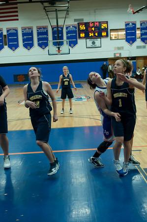2011-03-01 Dayton Girls Varsity Basketball vs Brearley