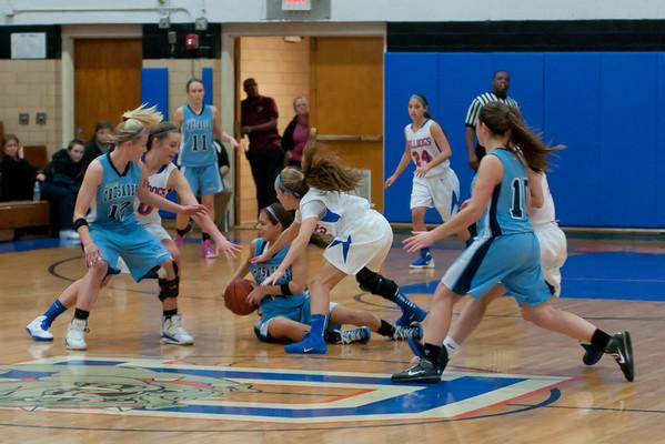2012-01-26 Dayton Girls Varsity Basketball vs Arthur Johnson