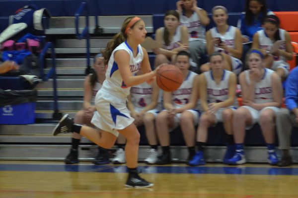 2013-01-04 Dayton Girls Varsity Basketball vs Elizabeth