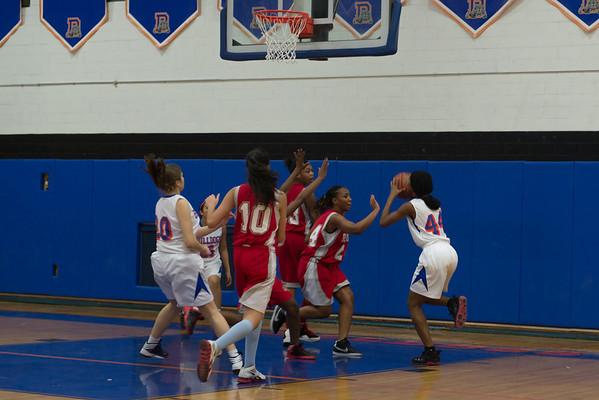 2013-01-08 Dayton Girls JV Basketball vs Roselle