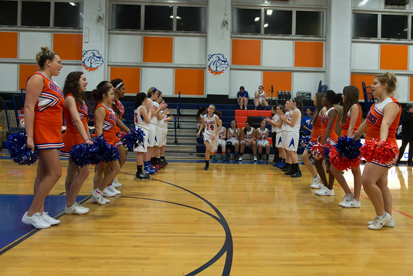 2013-01-11 Dayton Girls Varsity Basketball vs Westfield