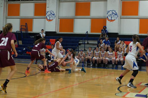 2013-01-15 Dayton Girls Varsity Basketball vs Summit