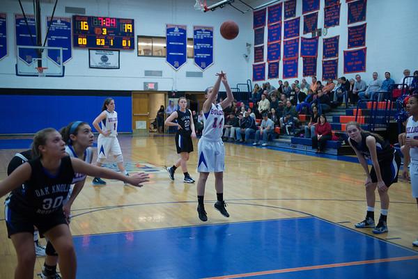 2013-01-17 Dayton Girls Varsity Basketball vs Oak Knoll