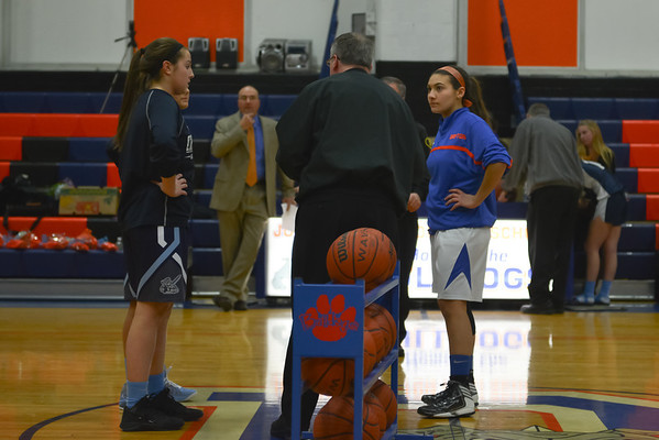 2013-01-22 Dayton Girls Varsity Basketball vs Arthur Johnson