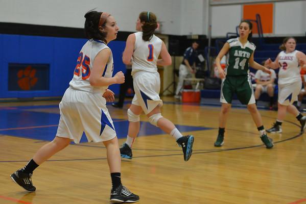 2013-02-26 Dayton Girls Varsity Basketball vs Newark Arts