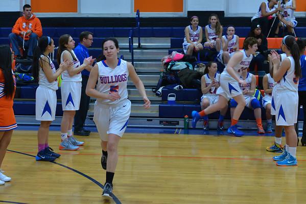 2014-01-31 Dayton Girls Varsity Basketball vs Governor Livingston