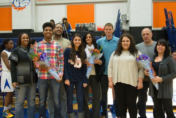 2014-02-10 Dayton Girls Varsity Basketball vs Arthur Johnson