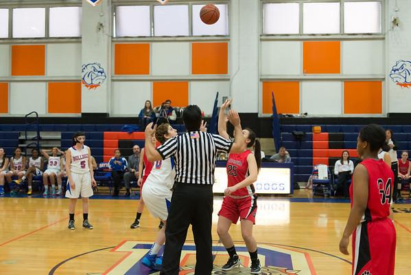 2014-02-26 Dayton Girls Varsity Basketball vs Belvidere