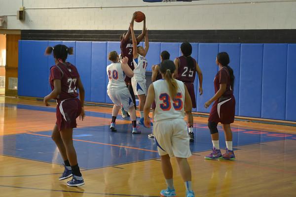 2015-01-17 Dayton Girls Varsity Basketball vs Hillside