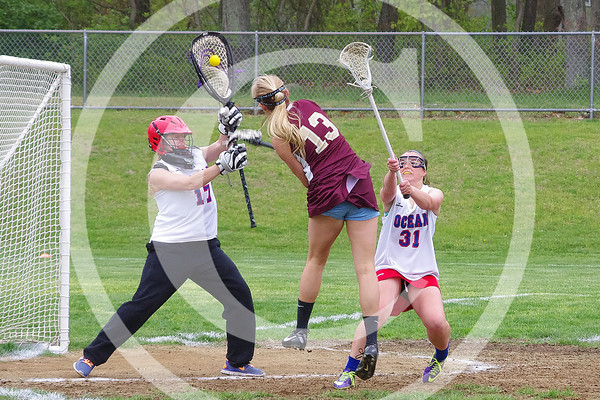 Central vs Ocean 2014 Girls LAX
