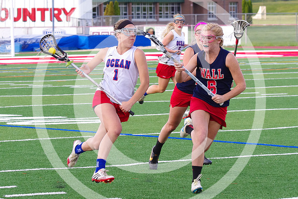 Wall vs Ocean Girls LAX 2014