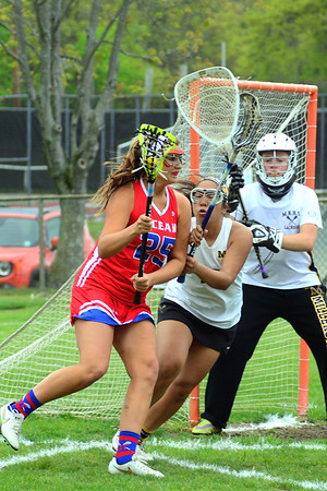 Mon Reg vs Ocean 2016 Girls Lacrosse