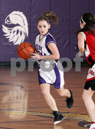 2012 Austin Girls Jr. High Basketball @ Coudersport