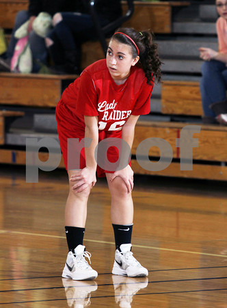 2012 Cameron County Girls Jr. High Basketball @ Coudersport
