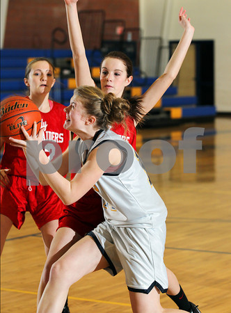 2013 Cameron County Girls Jr. High Basketball @ Northern Potter