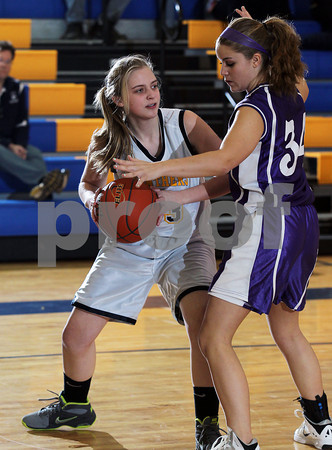 2013 Coudersport Girls Jr. High Basketball @ Northern Potter