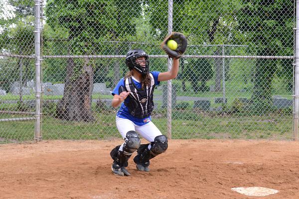 2012-05-07 Dayton Girls Varsity Softball - UCT 1st RD vs David Brearley #2 of 7