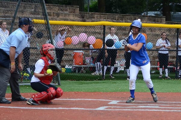 2012-05-23 Dayton Girls Varsity Softball Sectional 1st RD vs Glen Ridge #1 of 7
