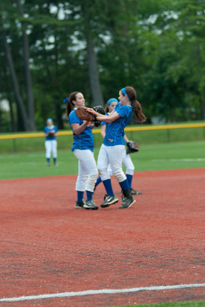 2012-05-23 Dayton Girls Varsity Softball Sectional 1st RD vs Glen Ridge #5 of 7