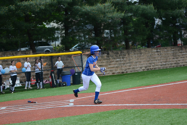 2012-05-23 Dayton Girls Varsity Softball Sectional 1st RD vs Glen Ridge #7 of 7