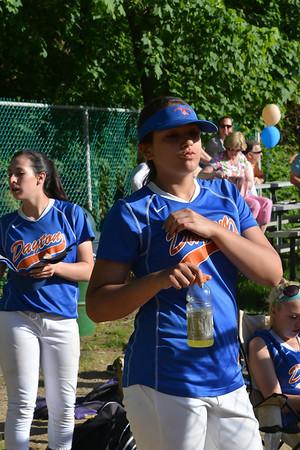 2013-05-17 Dayton Girls Varsity Softball vs Scotch Plains-Fanwood #5 of 7