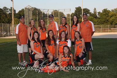 Girls Softball Team Photos 2012