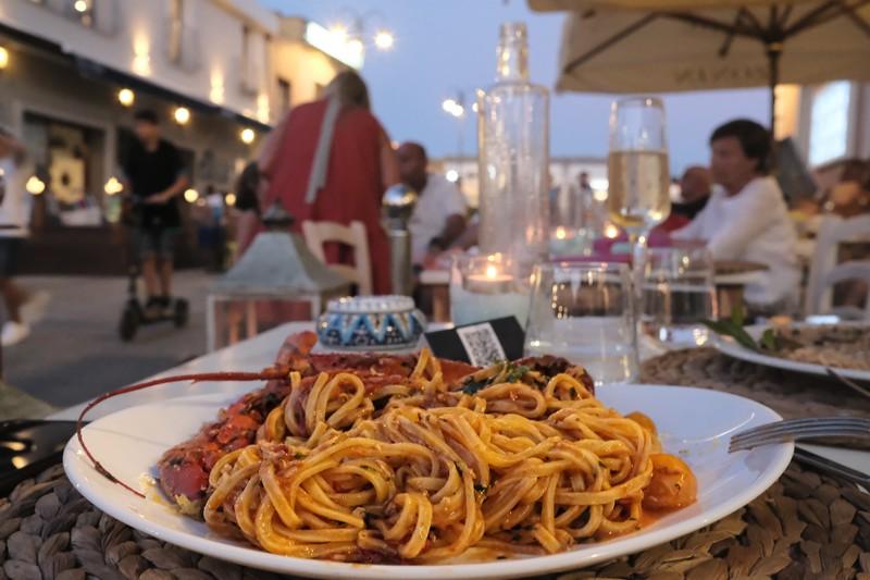 cena di mare a villasimius