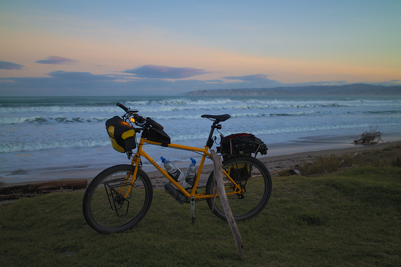 """Exactly 100km on the clock, time to call it a day and head home.<br /> <br /> Would you believe, I jumped on the bike and started off and the thick sand and grass..... and  fell off in front of half a dozen people! """"My first accident in 15 000kms""""  I told them, trying to get some pride back!"""