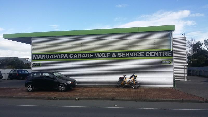Mangapapa Garage Ormond Road