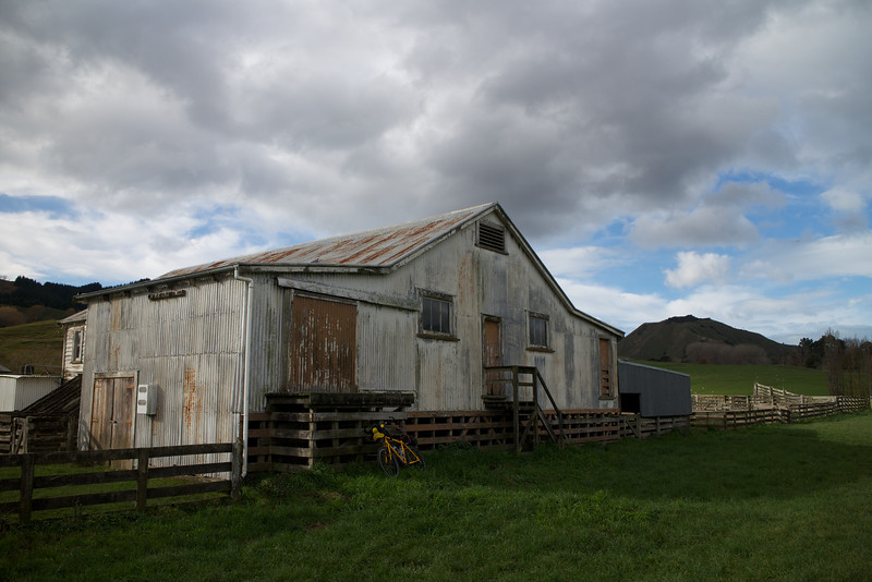 """Maclaurins Woolshed, Maclaurin Road or what we called """"the other side of the farm."""""""