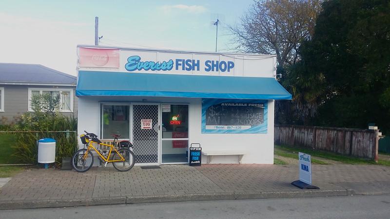 Everest Fish Shop Ormond Road Gisborne