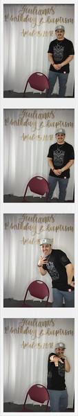 Giuliana's 1st Birthday - Photobooth
