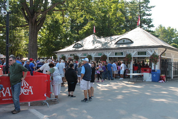 Giveaway at Saratoga Race Course