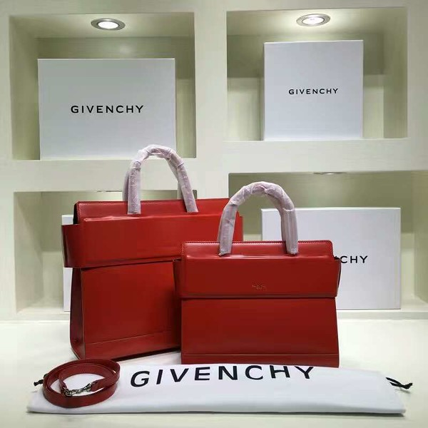 Givenchy Horizon 35 and 27 cm red