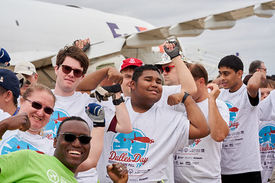 Dulles Day Plane Pull 2019 - Special Olympics