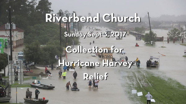 Riverbend collecting supplies hurricane Harvey relief