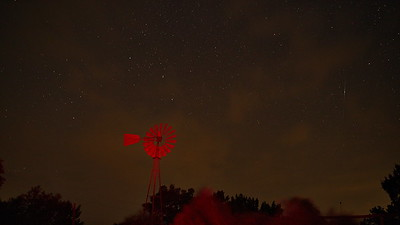 Red windmill #2