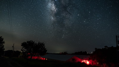 Milky Way over the DMB Center