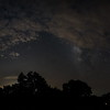 Milky Way galactic center just coming up