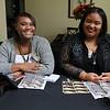 Jasmine Hill and Brittney Miller are part of the 2017 Donor Reception welcoming committee!