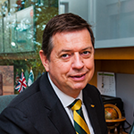 Dr. Roger Brindley, USF System Vice President