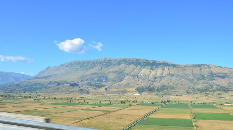 Road to Gjirokastra