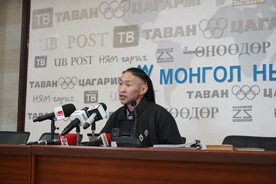 """Монголын судлаач, хэл шинжлэлийн мастер, эрхзүйч Э.Жамуха зөв бичгийн дүрэм, """" Монгол хэлний тухай"""" хуулийн судалгааны үр дүн танилцуулахаар мэдээлэл хийлээ"""