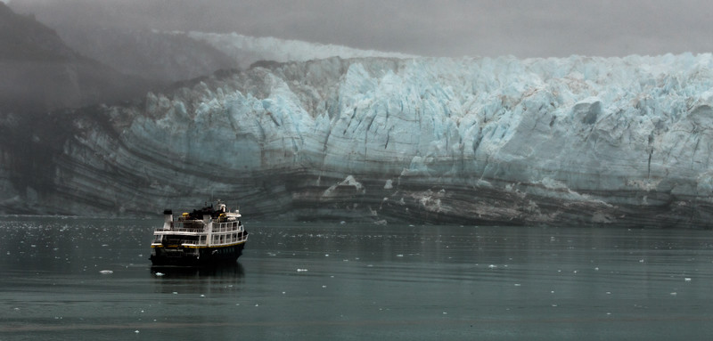 National Geographic Ship in Glacier Bay